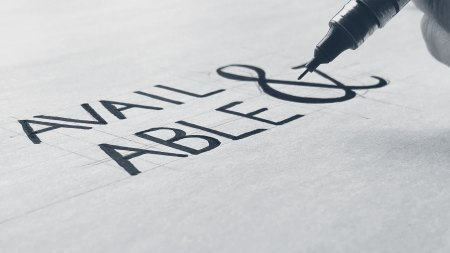 Sketch of the Avail & Able logo