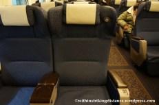 12Feb14 N700 Series Shinkansen Green Car 005