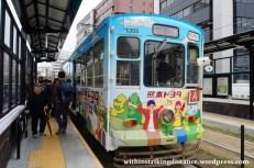 27Mar15 005 Japan Kyushu Kumamoto City Tram Type 1350