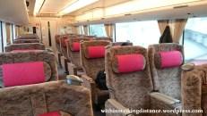 30Jun15 003 Japan Honshu Fukui Kanazawa JR West Thunderbird Limited Express 683 Series EMU Train