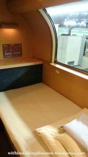 05-06Jul15 004 Japan Honshu 285 Series EMU JR Tokyo Izumo-shi Sunrise Izumo Night Train Sleeper Single Deluxe Room