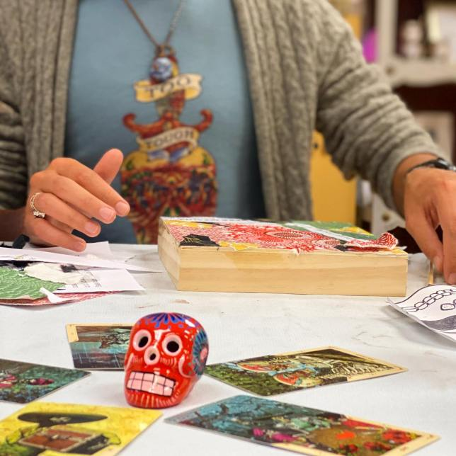 Day of the Dead Mixed Media Painting Workshop with guest artist Rachel Ingrid