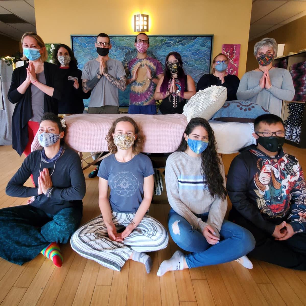Reiki Share and Connect with Reiki Master and Co-Founder Jonathan Carone at With Intentions Holistic Studio in Lake Como, NJ
