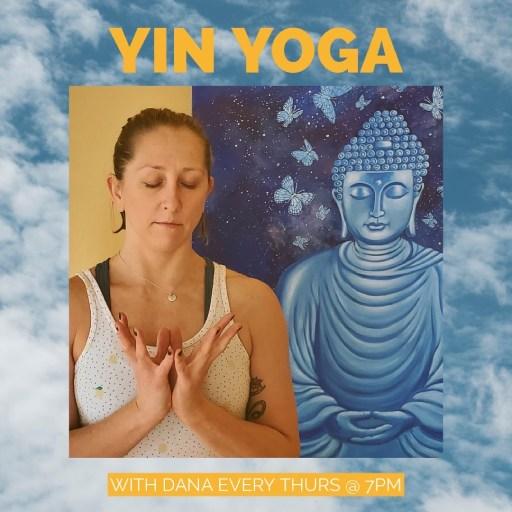Yin Yoga with Reiki Master, Dana Potts