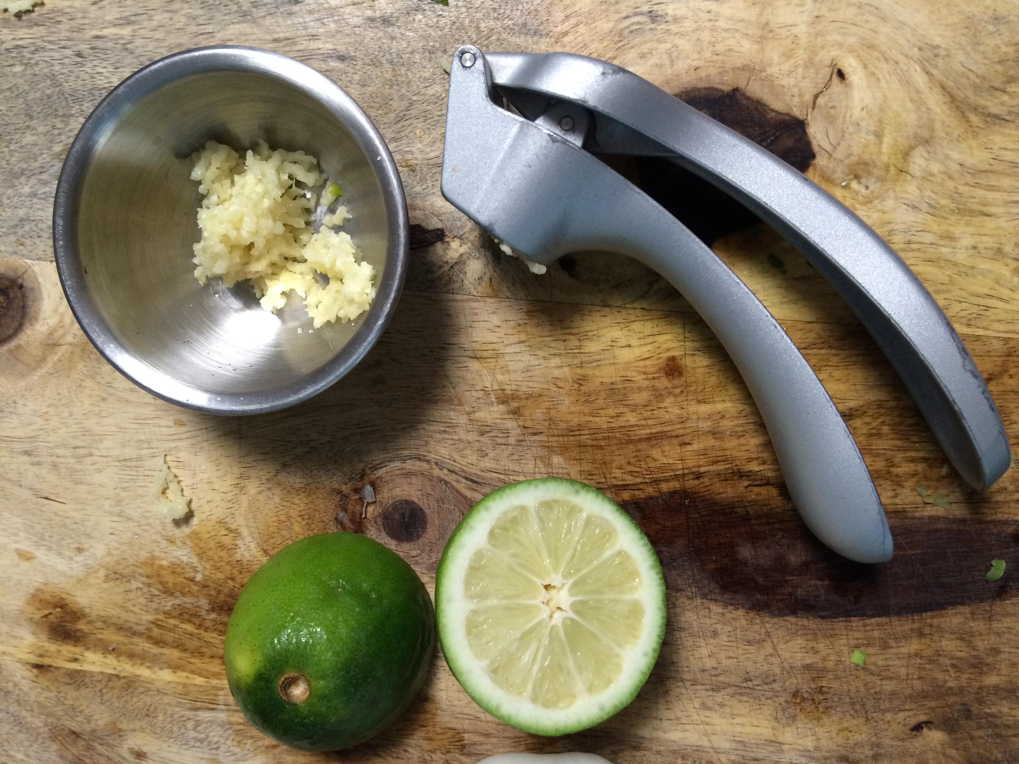 garlic press by Pampered Chef