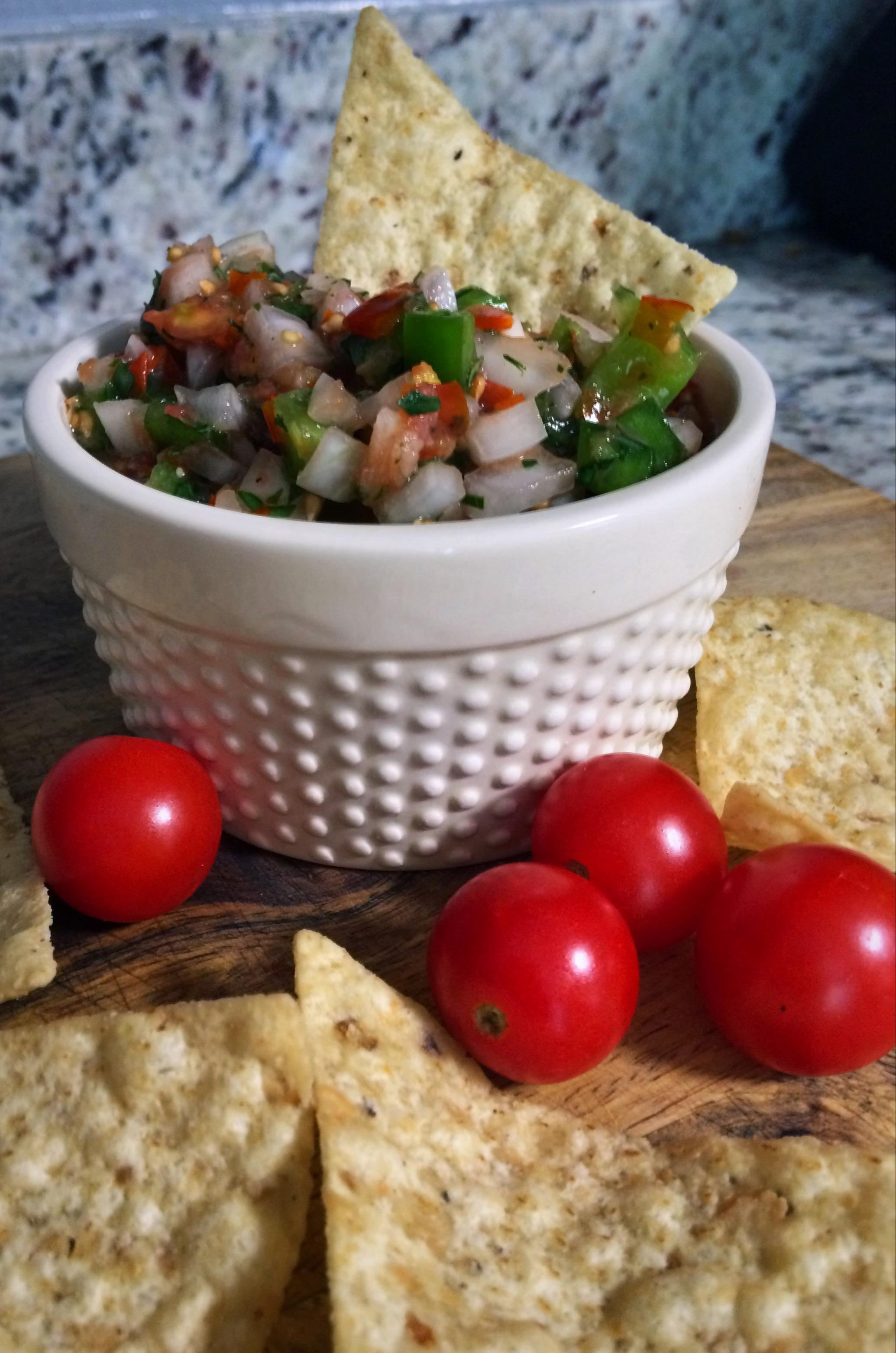 delicious and healthy salsa
