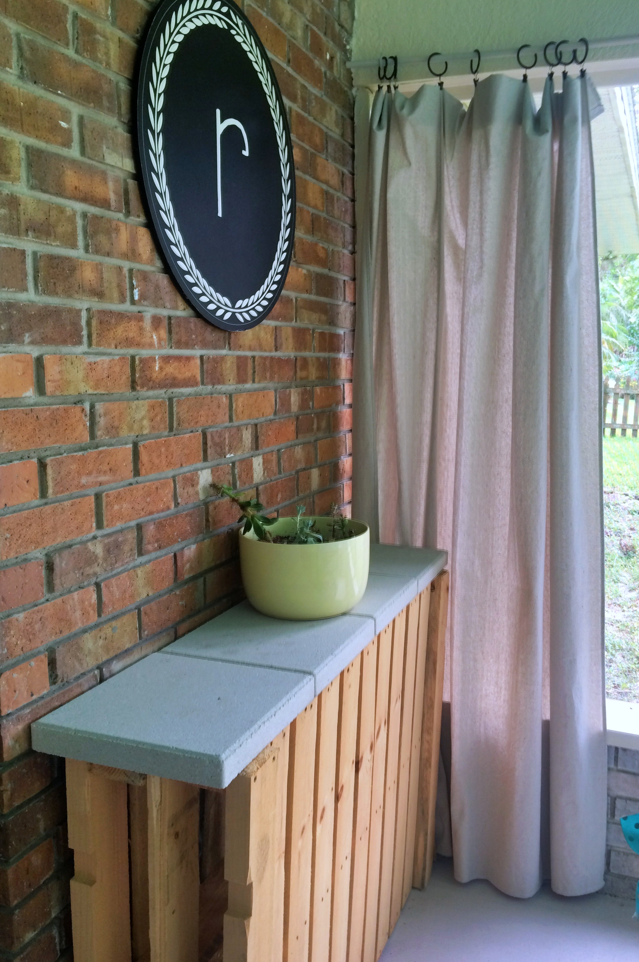 patio space makeover