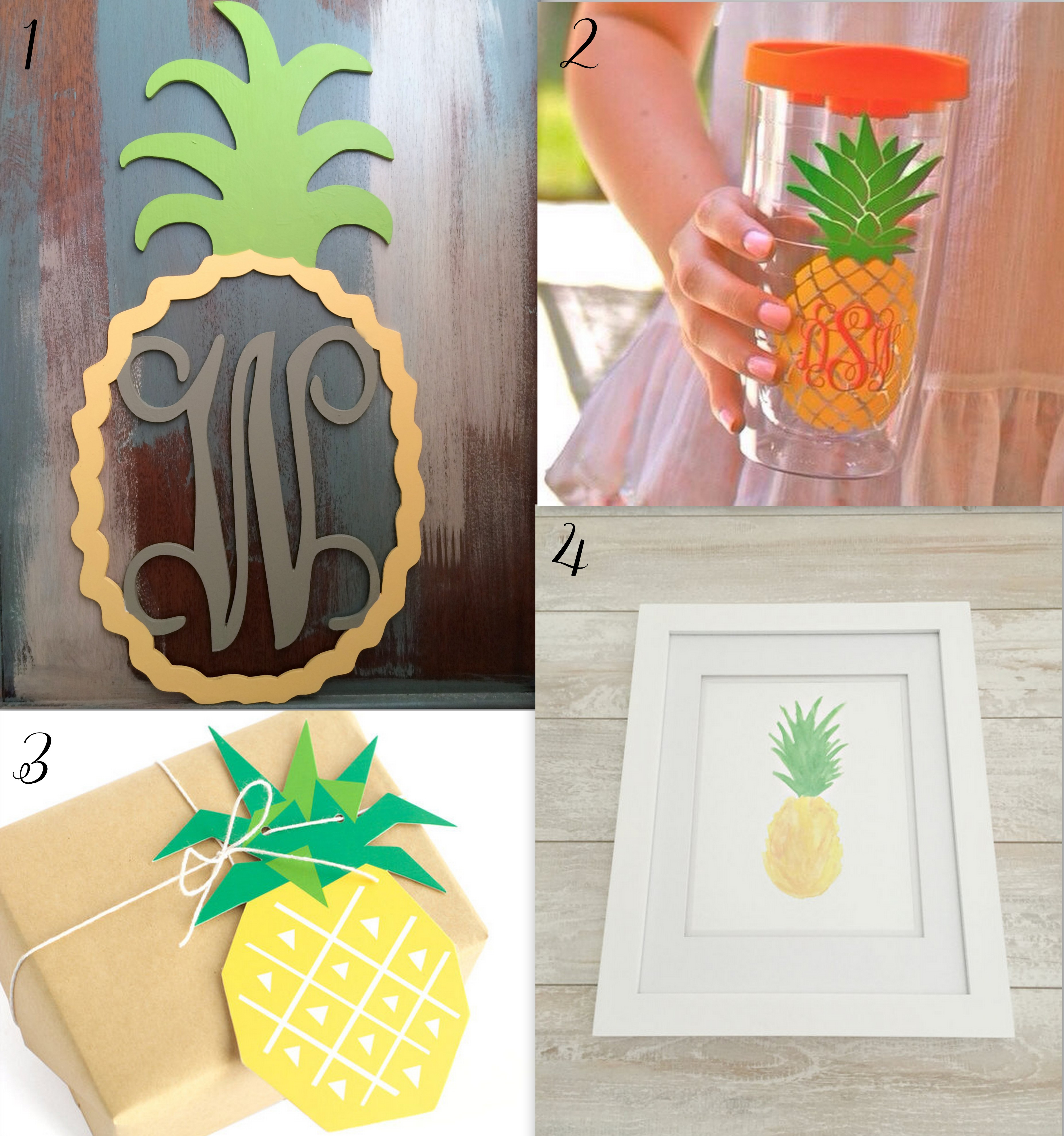 Picks of WTG: Pineapple gifts and decor