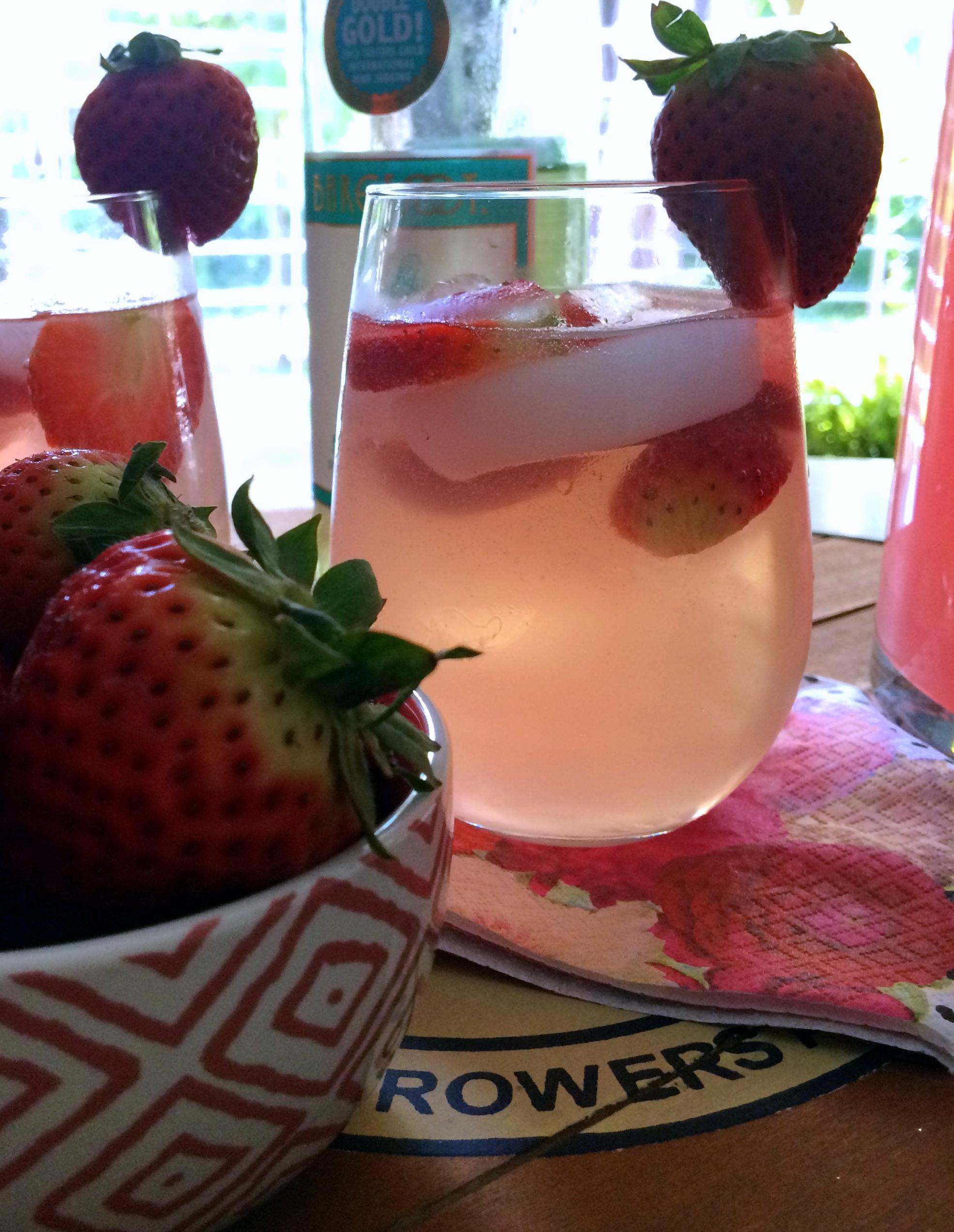 summer spritzer drink
