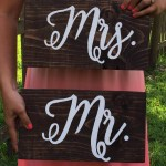 DIY Handwritten Calligraphy Signs