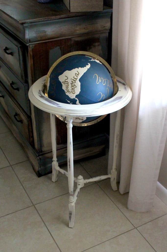 Painting-your-own-globe