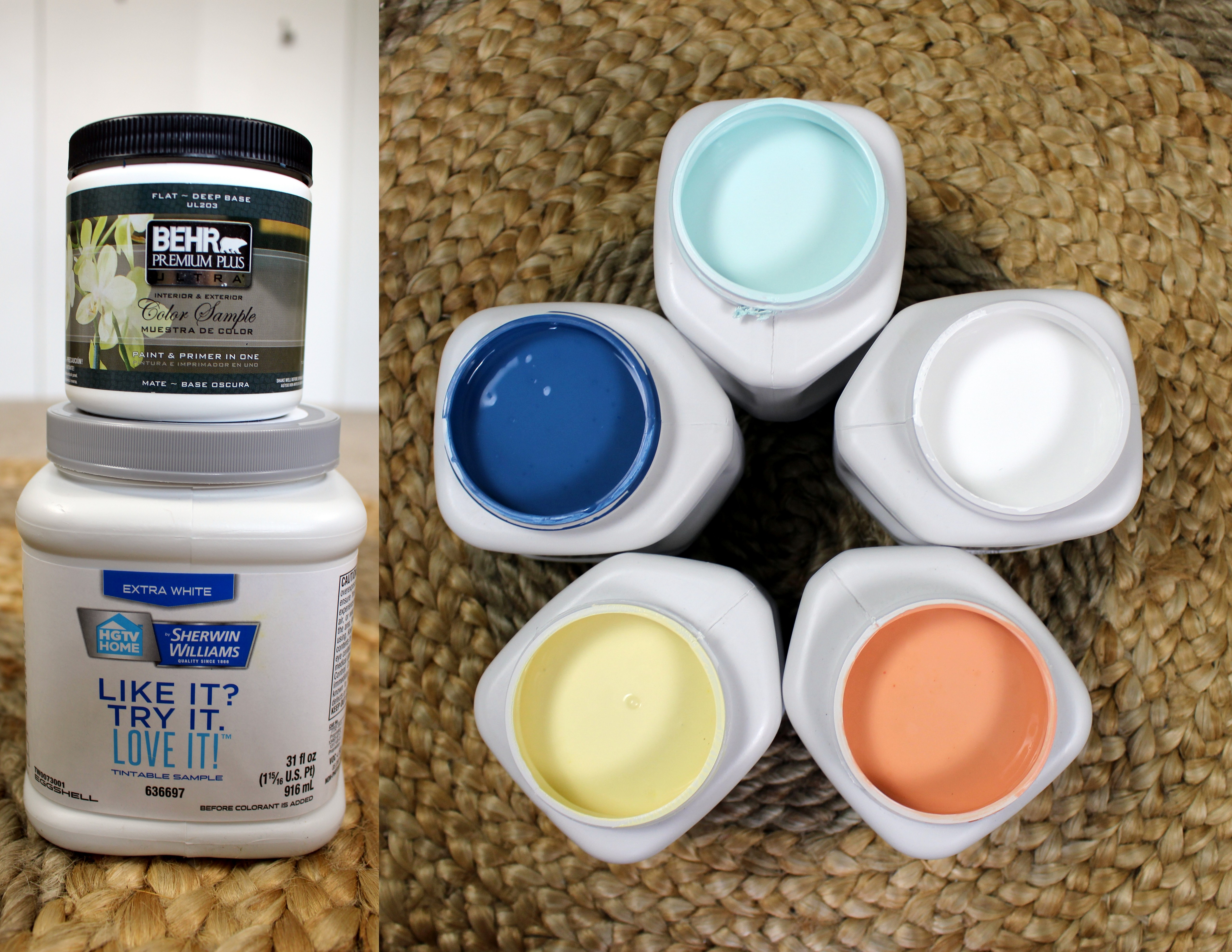Sample-paints-in-quart-size-by-Sherwin-Williams