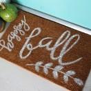 Fall Doormat DIY
