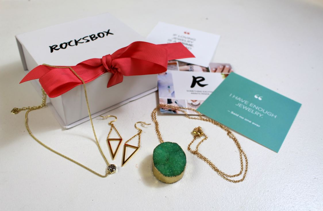Rocksbox is s monthly subscription service for jewelry.