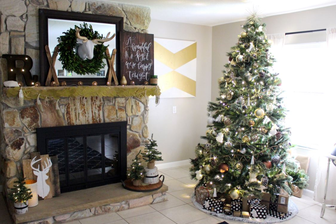 neutral christmas decor for the home - Neutral Christmas Decor