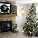Neutral Christmas Decor for the home.