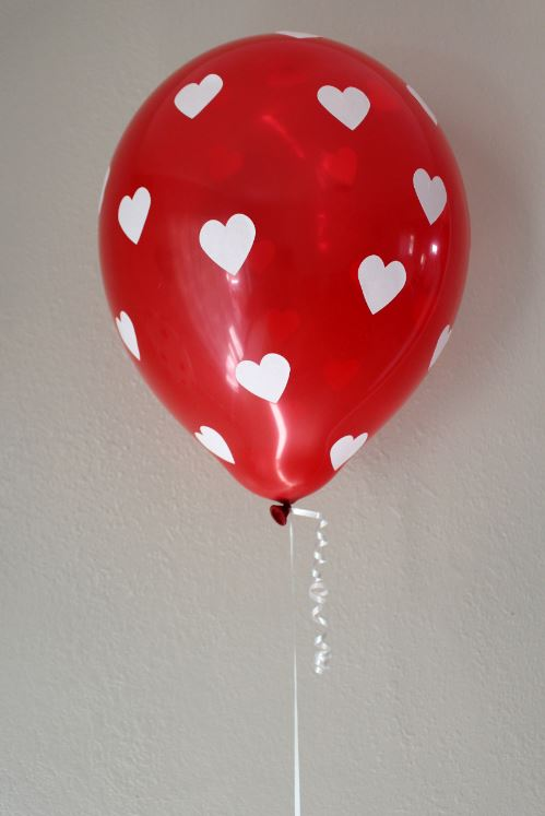 Valentine's Day Heart Party Balloons