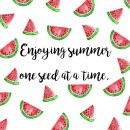 June Watermelon Wallpaper iPad Screen