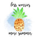 Pineapple Summer Wallpaper for your computer.