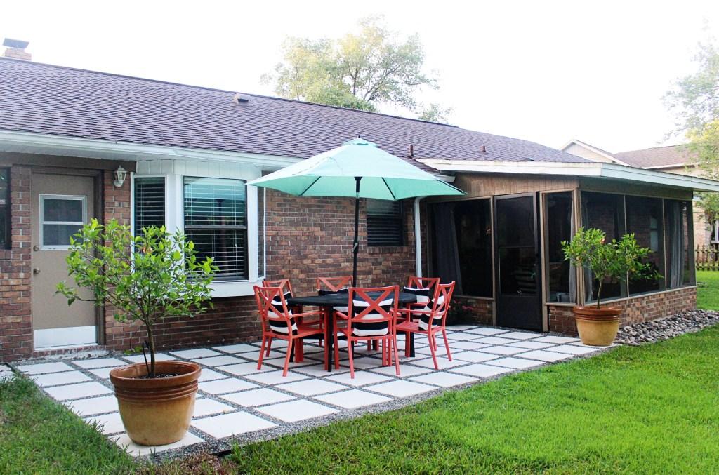 Home Project // Backyard Patio Makeover on Backyard Patio Makeover id=73431
