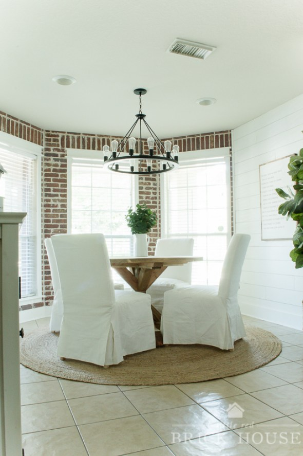 Little Red Brick House Dining Room