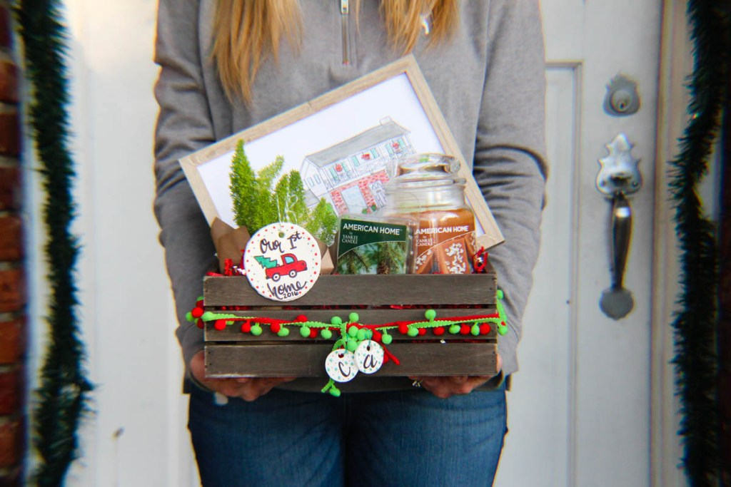 Holiday basket for new homeowner