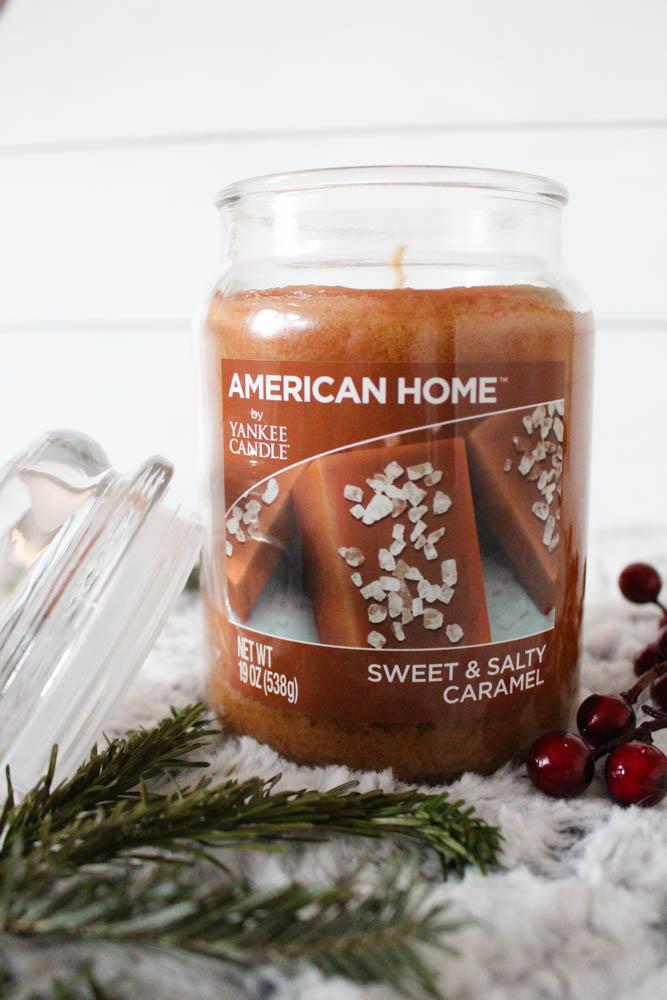 Yankee Candle for the holiday season at Walmart