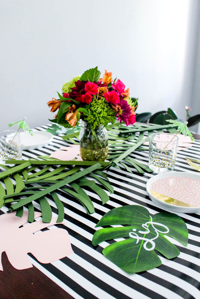 20 Minute Tropical Table Setting Within The Grove