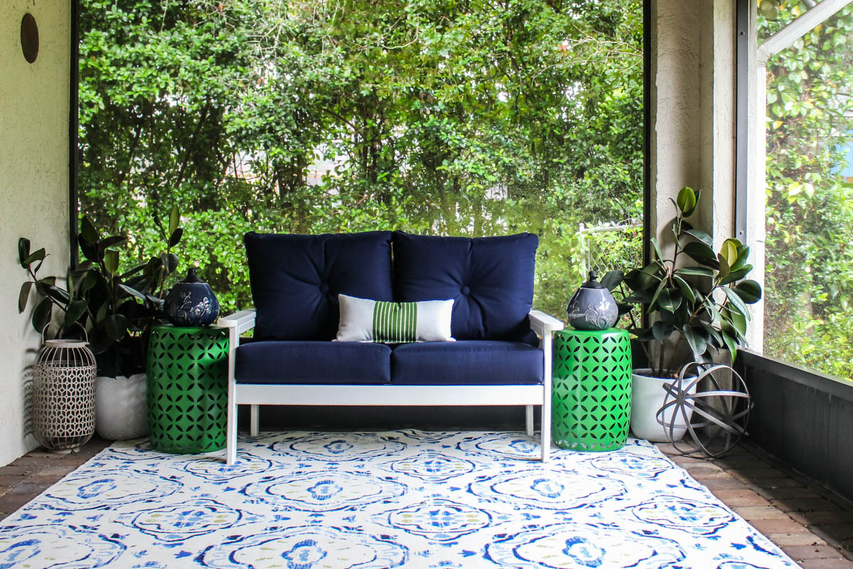 Adding pops of color and plants to your outdoor space - Within the Grove