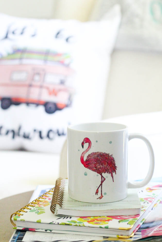 Fin First Flamingo Coffee Mug - Within the Grove