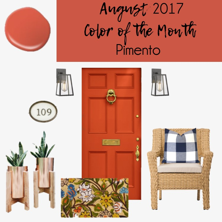 Pimento by Behr Front Porch Design - Within the Grove