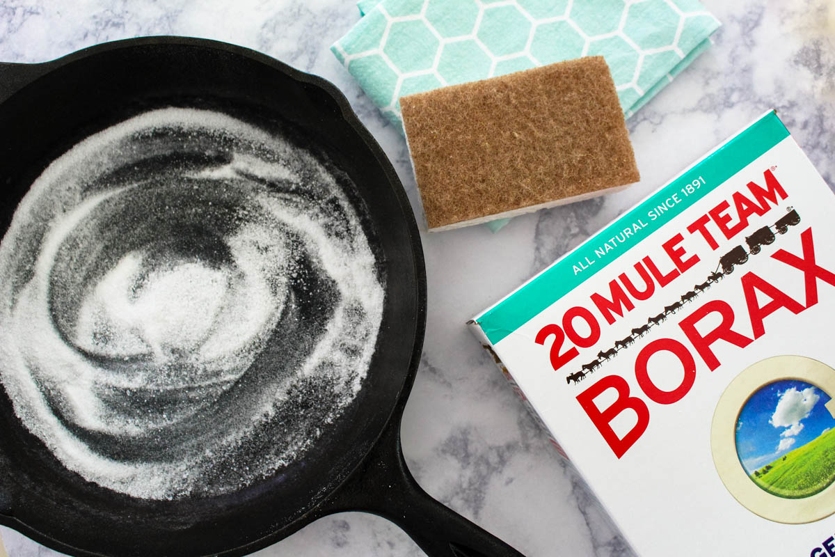 Cleaning the kitchen using Borax - Within the Grove