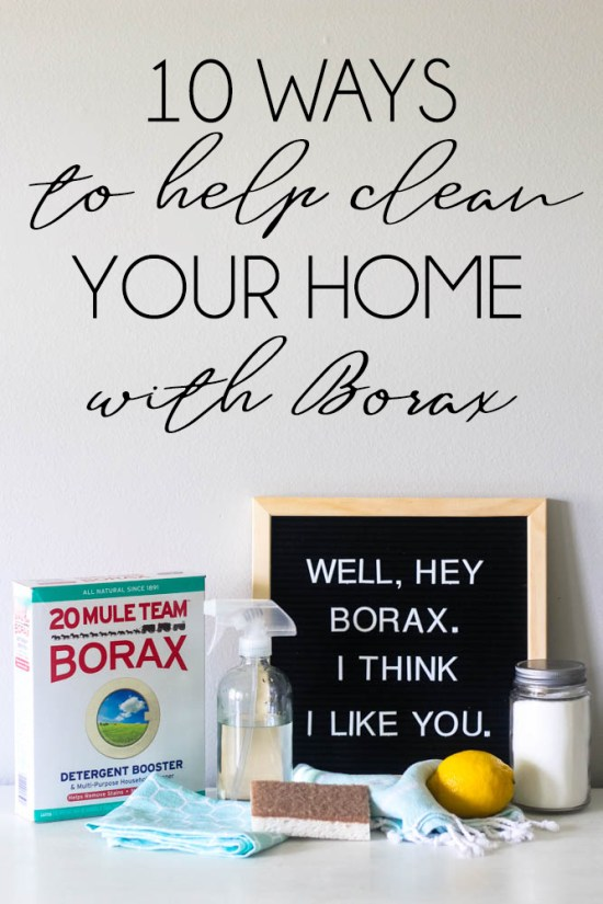 Top 10 Ways to clean your home with Borax - Within the Grove