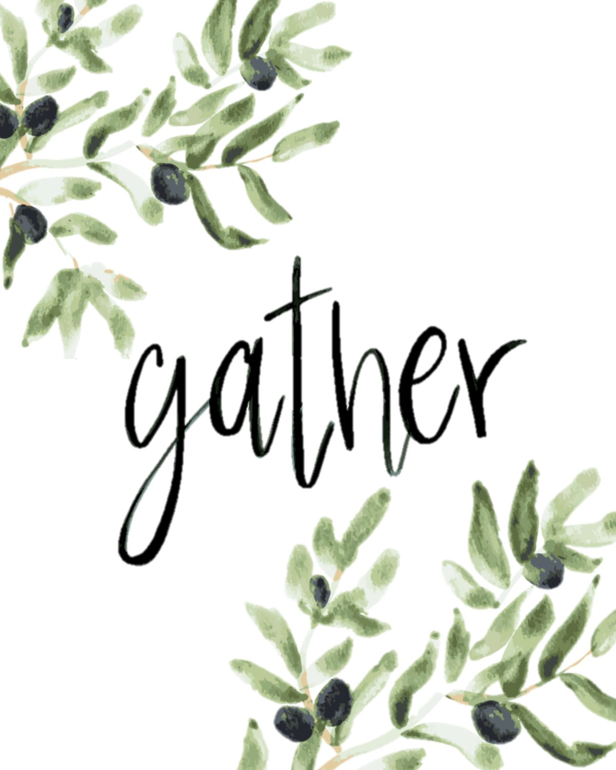 picture regarding Gather Printable named No cost Printable // Get - Inside the Grove