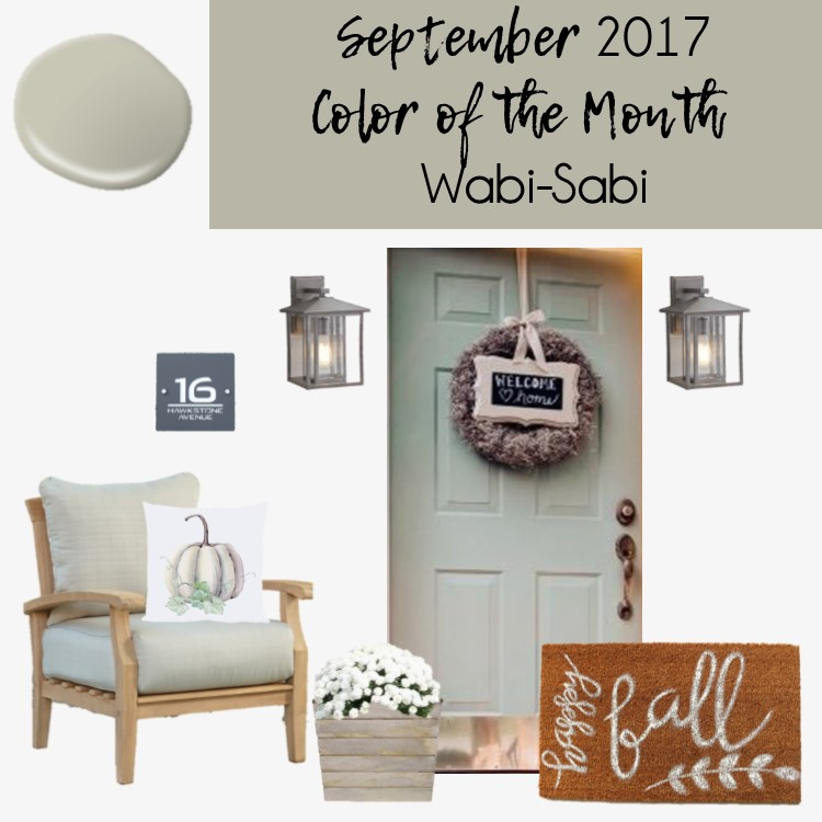 Behr's Color of the Month of September - Wabi Sabi