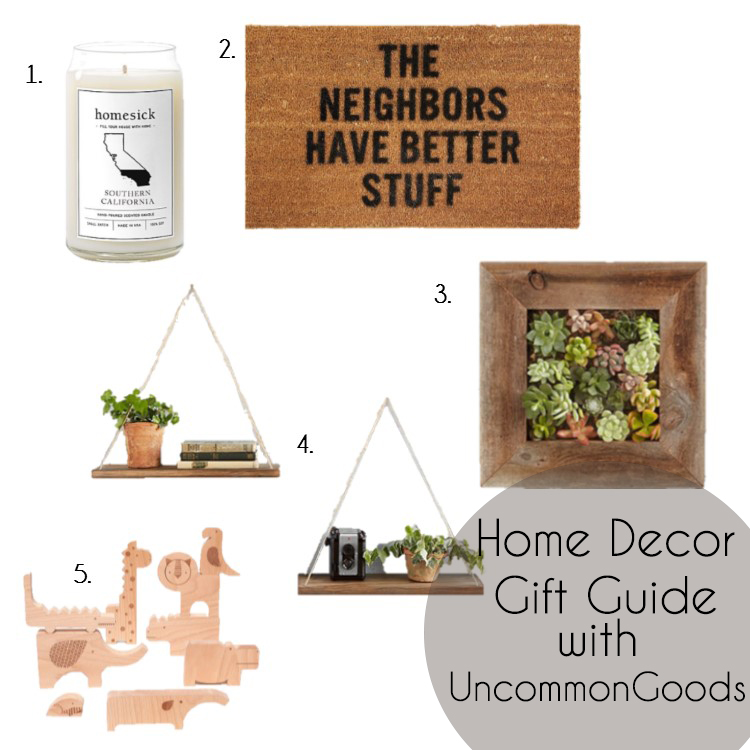 Home Decor Gift Guide with UncommonGoods
