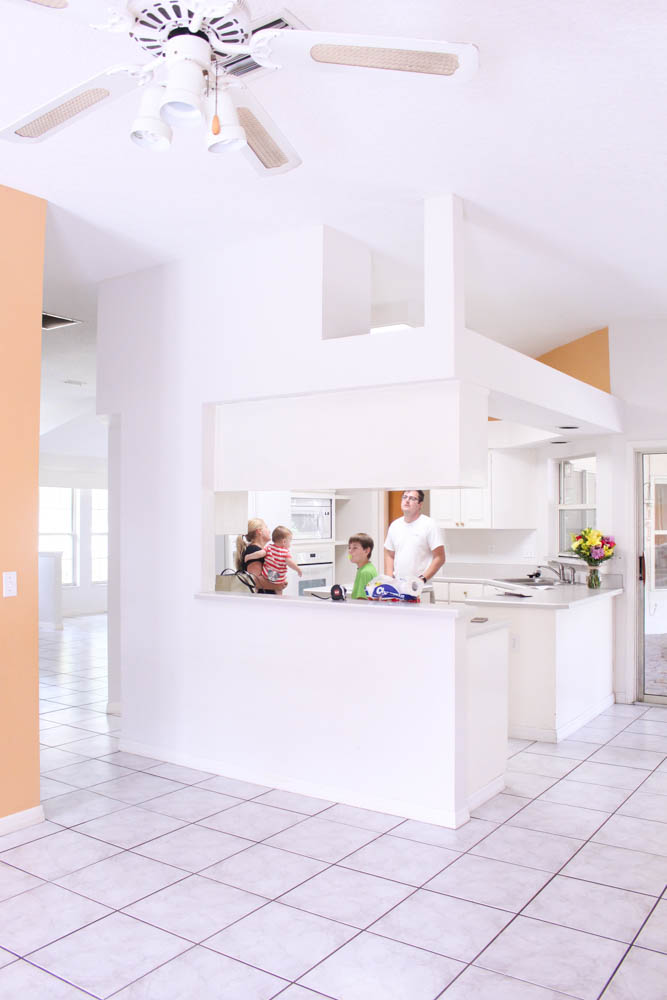 Before and After Kitchen Makeover Reveal