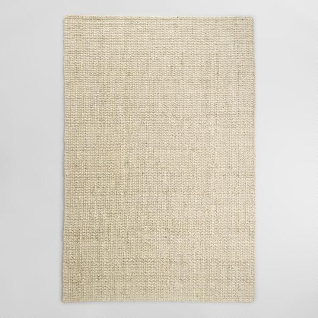 Bleached Jute Rug by World Market