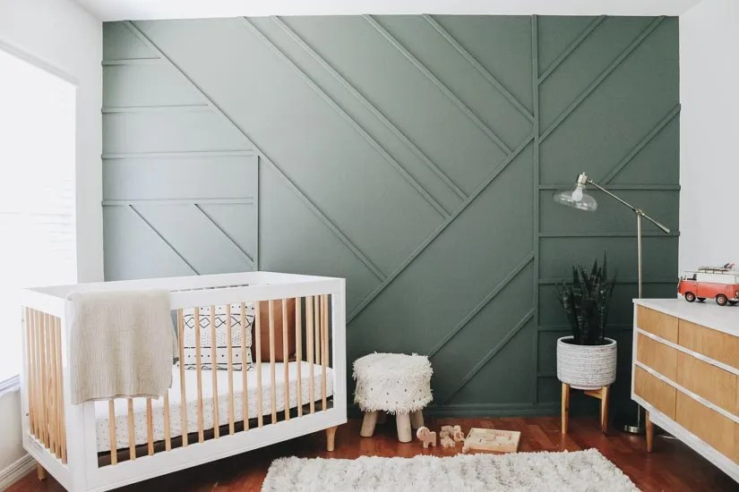 Creating A Modern Wood Accent Wall Within The Grove
