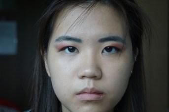 Wonder woman Halloween makeup look