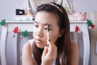 Christmas makeup tutorial