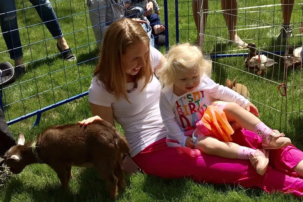2 year old petting zoo birthday party