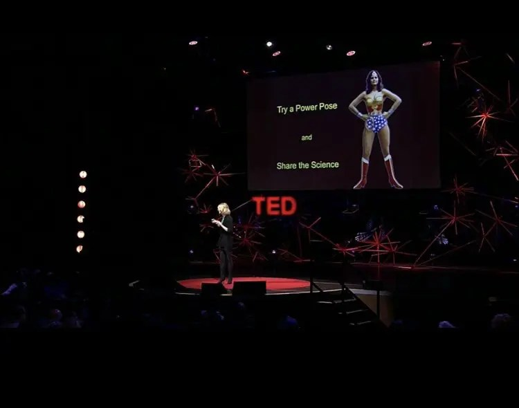 Amy Cuddy's power pose to overcome impostor syndrome in career and parenting.