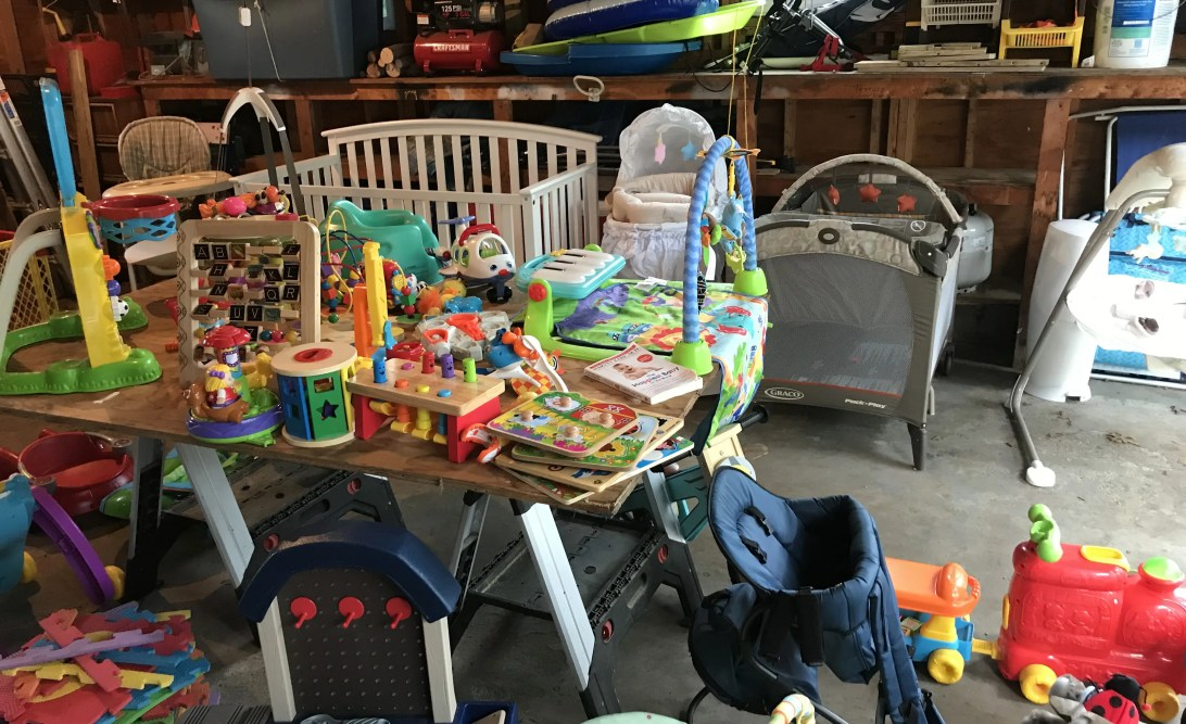 5 Stages of Yard Sale Grief