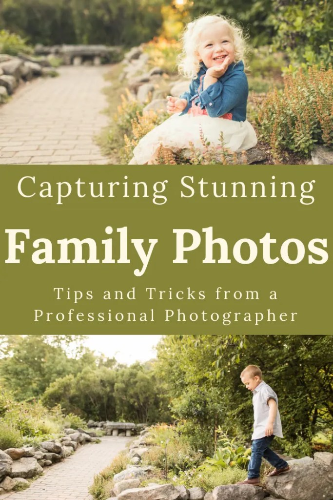Family Photo Tips from a Professional Photographer - How to keep the kids smiling!