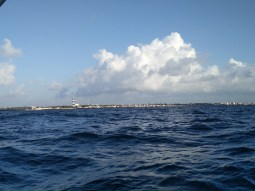 View from the boat - The Pondicherry Promenade