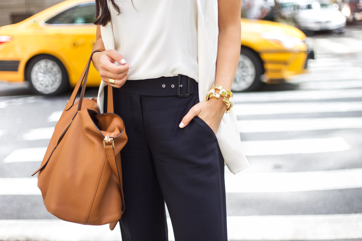 With Love From Kat Navy Culottes In Gramercy Park