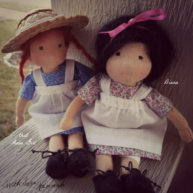 Anne Diana With Love Hannah Dolls
