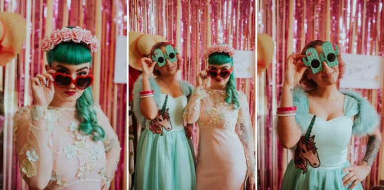 retro kitsch styled shoot