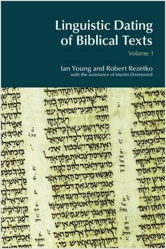 Thinking better about linguistic dating of Biblical Hebrew